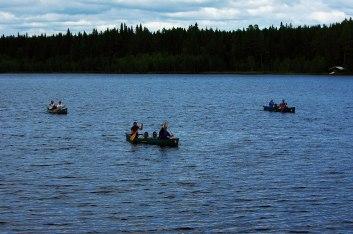 På Hårkan kan du paddla upp till två veckor.